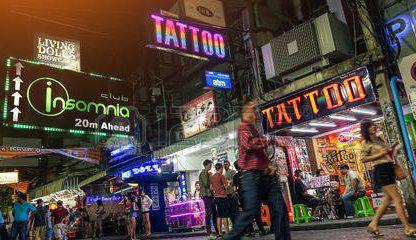 Tattoo Parlours In Pattaya, Thailand