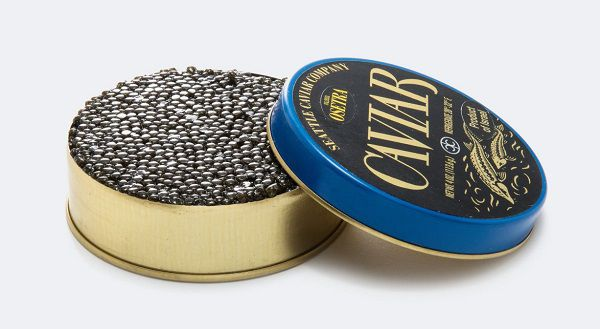 Caviar Sold In Cans