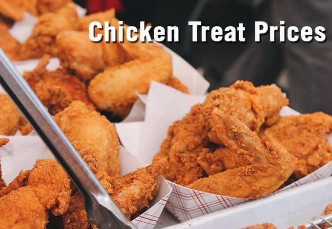 Chicken Treat Menu Prices