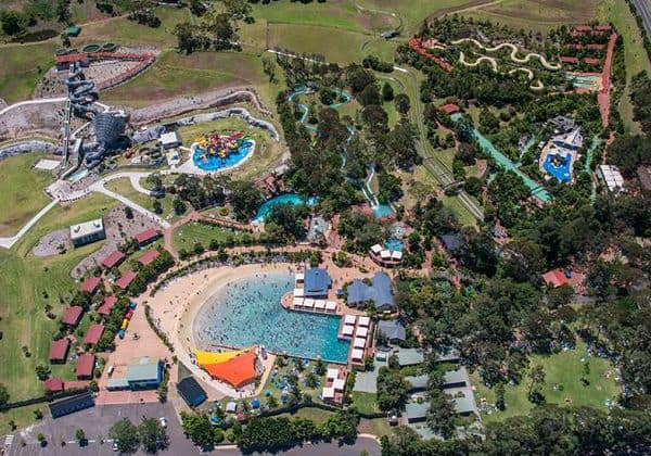 Jamberoo Park Aerial View
