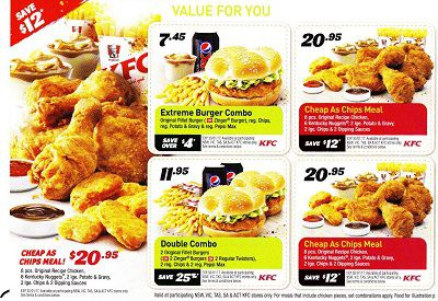 Kfc Menu Prices In Australia January 2019 Aussie Prices