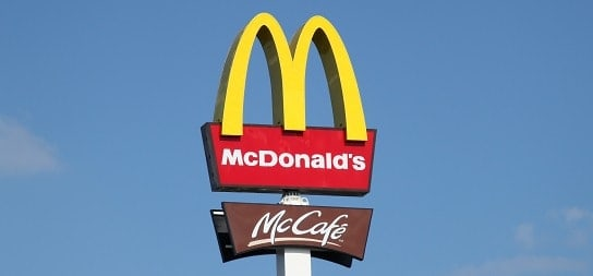 Macca's Famous Golden Arches Logo