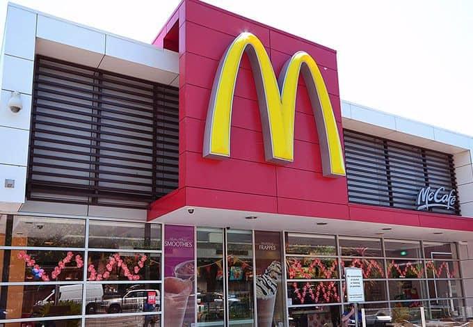 Maccas Store Australia Menu