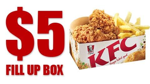 $5 Deal Kfc Wa Only