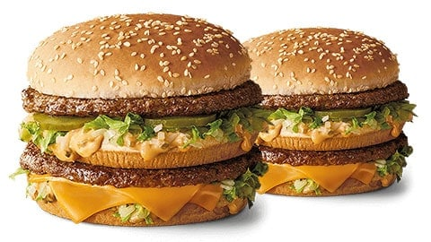 $3 Off Grand Big Mac Mcdonalds Coupon