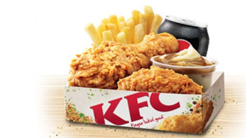$5 Kfc Lunch Deal Hot & Spicy Box