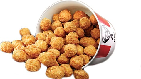 $10 Popcorn Chicken Bucket Voucher Kfc Australia