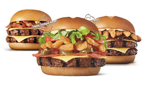 Hungry Jack's Grill Masters Burgers & Combos