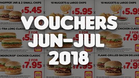 Hungry Jacks Vouchers Australia Jun+july 2018