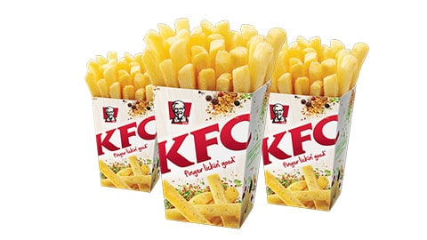 $2 Large Chips Deal @ Kfc Australia