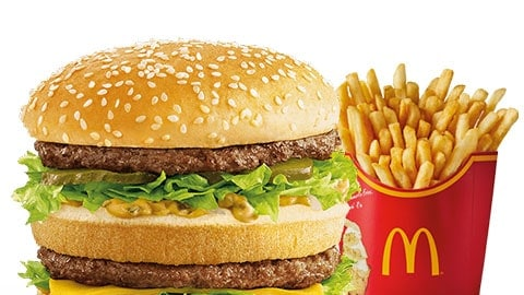 Free Large Fries With Mcclassic Burger @ Mcdonald's