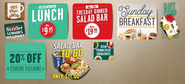 Sizzler Offers And Discounts In Australia
