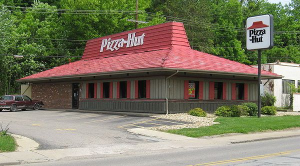 Traditional Pizza Hut Store With A Buffet
