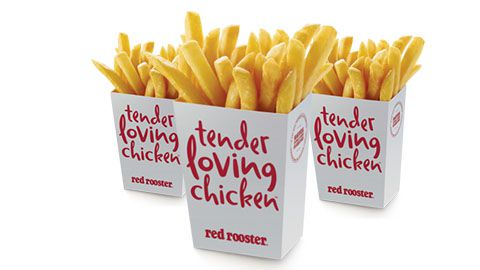 $1 Regular Chips Special @ Red Rooster