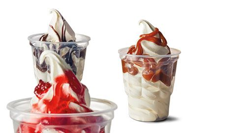 2 For 1 Sundae Icecream Deal @ Mcdonald's