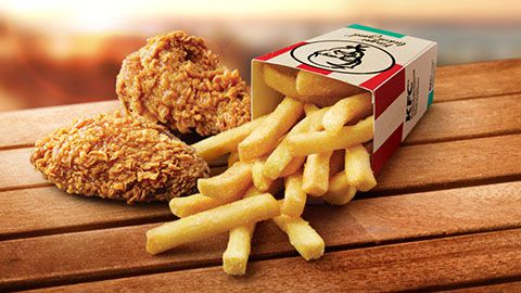 3 For $3 Deal @ Kfc Wicked Wings & Chips