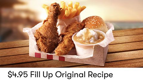$4.95 Fill Up Deal At Kfc