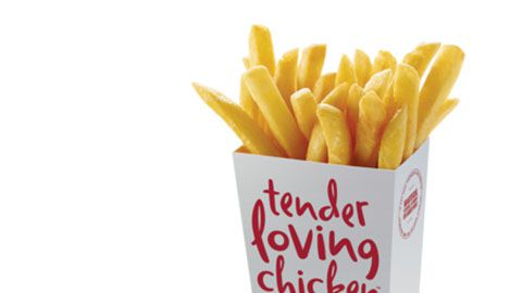Bonus Large Chips Voucher @ Red Rooster