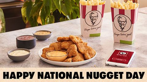 National Nugget Day Deal @ Kfc Australia