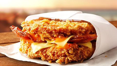 Zinger Double Burger Coupon $8.95 @ Kfc