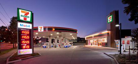 7 Eleven Service Station In Australia