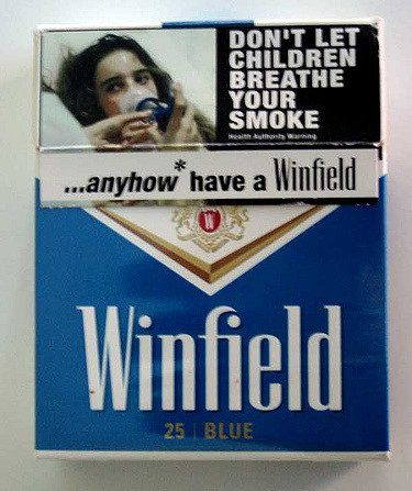Old Pack Of Winfield Blue 25