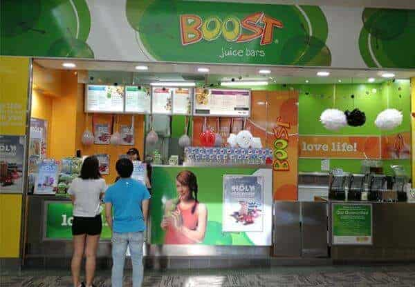 A Boost Juice Store In Australia