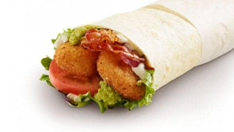 Blt Smash Wrap For $8.99