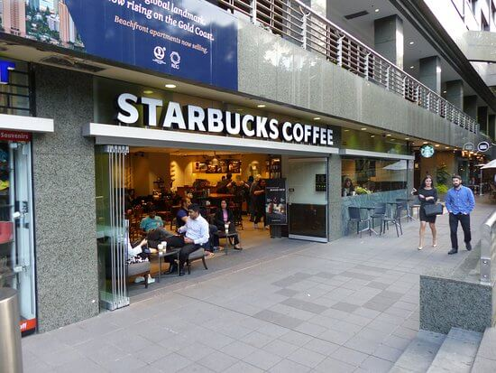 Circular Quay, Sydney One Fo The Few Starbucks Locations In Australia