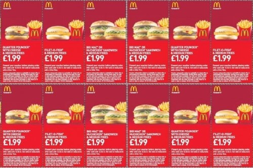 The Uk Has Plenty Of Maccas Vouchers Available