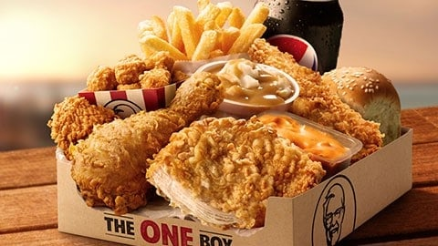 2019 Deal At Kfc The One Box For $12.95