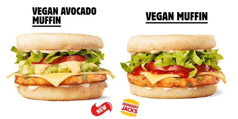 New Vegan Breakfast Muffins At Hungry Jacks