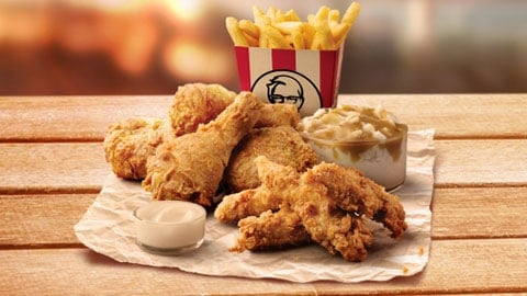$15.95 Colonels Dinner Kfc Deal
