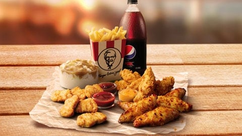 Chicken Feast Kfc Deal For $20.95